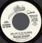 """Don't Stop 'Til You Get Enough (Long Version) Promo 7"""" Single (USA)"""