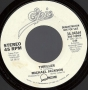"Thriller Promo 7"" Single (USA)"
