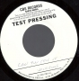 "Can You Feel It Test Pressing 7"" Single (USA)"