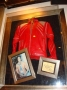 Beat It Red Leather Zipped Jacket Worn By Michael In The Video (USA)