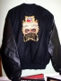 Dangerous World Tour  Leather/Wool Crew Jacket (USA)