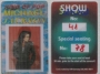 HIStory Tour 3D Special Seating Pass #78 For Show #41 (Brunei)