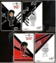 Michael Jackson Official 2 Transparent Sticker Set (Japan)