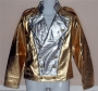 Michael Jackson *World History Tour* Official Adult Gold & Silver Jacket (USA)
