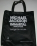 Michael Jackson IMMORTAL World Tour Black Tote Bag (Canada)