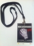 Michael Jackson *The Collection Of Tompkins & Bush* Exhibition Wardrobe Lanyard (UK)