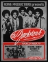 The Jacksons Destiny Tour Promo Poster For Oct. 28, 1979 Show In Springfield (Massachusetts - USA)