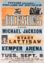 The Jacksons Triumph Tour Promo Poster For Sept. 8th, 1981 Show In Kansas City At Kemper Arena (Missouri - USA)
