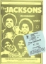 The Jacksons - Destiny Tour - February 10th, 1979 - Brighton  - Brighton Centre (2)  (UK)