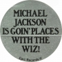 The Wiz Promo Round Sticker (USA)