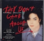 They Don't Care About Us (6 Mixes +2) CD Single (USA)