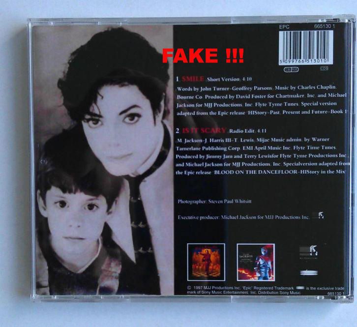 FAKE Smile 2 Track (Back)