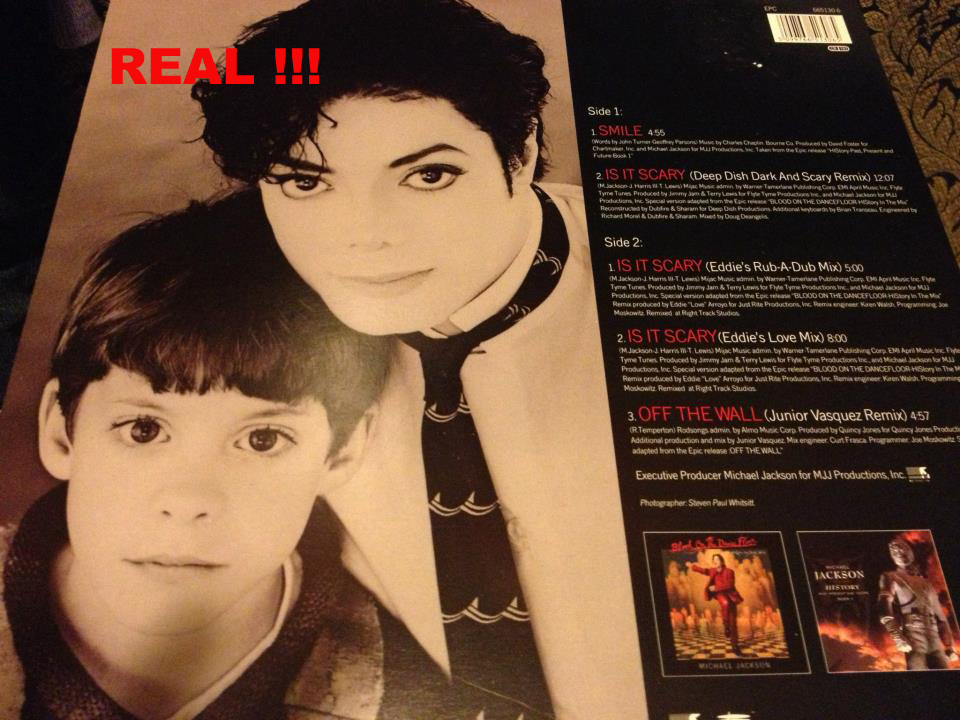 "Smile Real 12"" Vinyl (Back)"