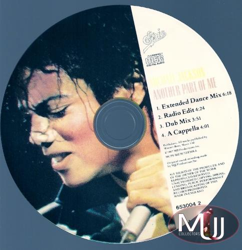 Another Part Of Me Pic CD