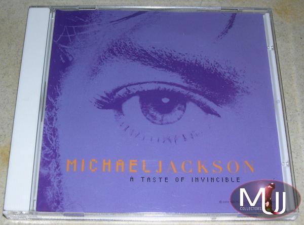 A Taste Of Invincible Promo CD
