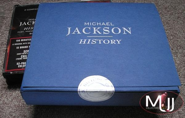 Michael Jackson History Blue UK Box Set