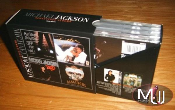 Michael Jackson Remastered Korea Promo Box Set
