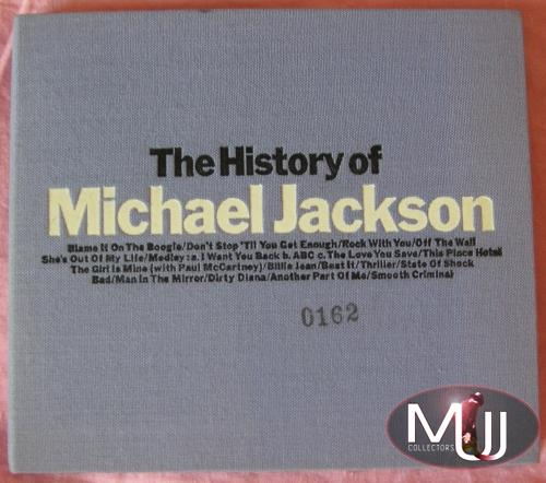 History Of MJ Japan Promo Purple
