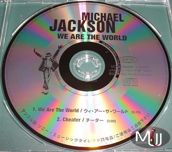 We Are The World Japan Acetate