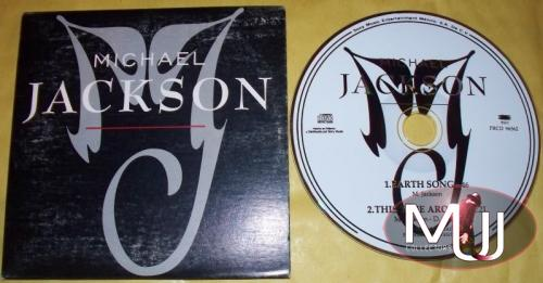 Earth Song Mexican Promo CD