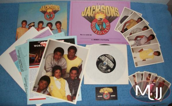 Jacksons World Fan Club Kit