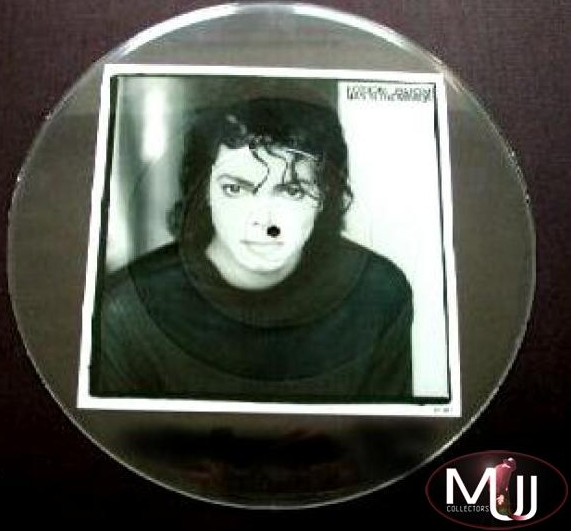 Man In The Mirror Uncut Pic Disk