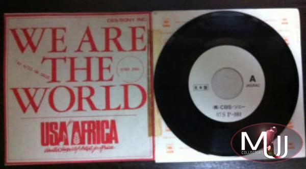 We Are The World Japan Promo