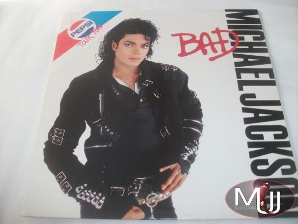 BAD Tour 88 Swedish LP