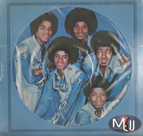 The Jacksons 1976 Blue Pic Disk