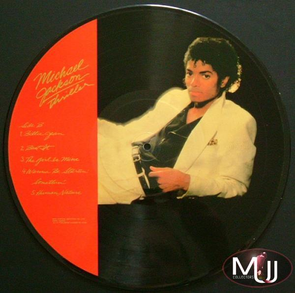 Thriller Taiwan Test Pressing