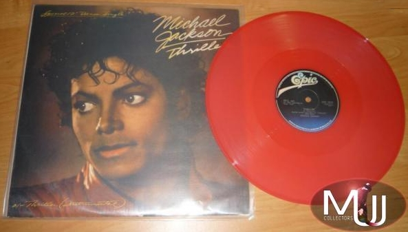 Thriller Limited Red Vinyl