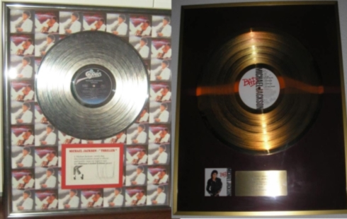 HIStoric Awards Owned & Signed By MICHAEL JACKSON!