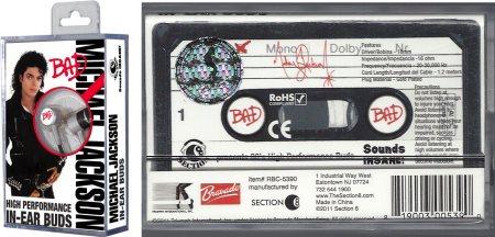 """Michael Jackson BAD In-Ear Buds Window Box"" MJBADLimitedEditionCassetteMergedSmaller"